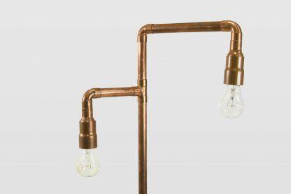 2 żarówki dekoracyjne do lampy miedzianej podłogowej