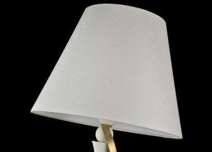 abażur biały w lampie 35458