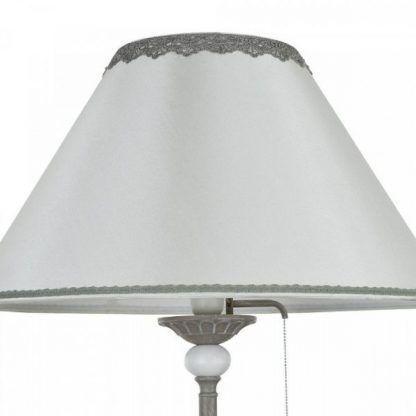 abażur lampy podłogowej z włącznikiem sznurkowym