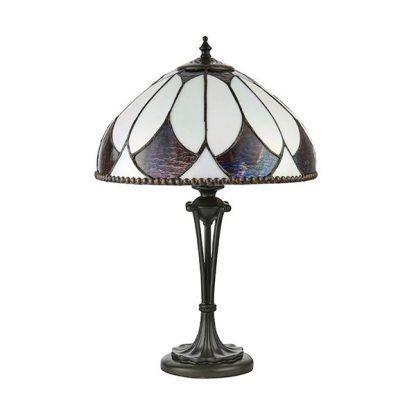 aragon lampa stołowa witrażowa do gabinetu
