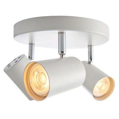 arezzo lampa sufitowa z białymi reflektorami