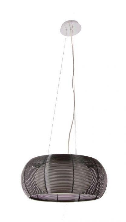 ażurowa lampa wiszaca na linkach duża do jadalni
