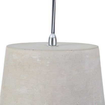 betonowa lampa wisząca do loftów