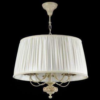 beżowa lampa wisząca w stylu klasycznym