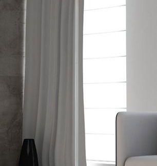 biała nowoczesna lampa podłogowa do salonu