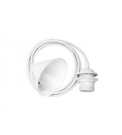 białe zawiesie do lampy 545