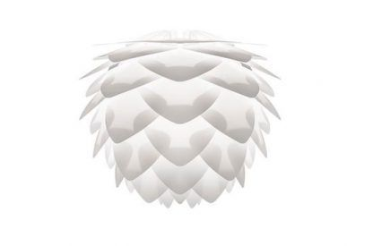 biały klosz lampy wiszacej umage