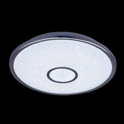 biały nowoczesny plafon z gwiazdkami