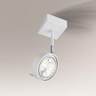biały reflektorek z regulacją 360
