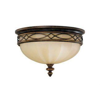 Ciemnobrązowy szklany plafon do salonu