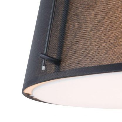 czarna lampa wisząca do restauracji