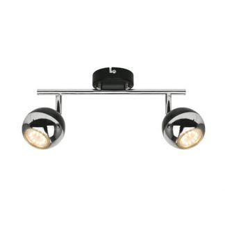 czarno-srebrna lampa sufitowa nowoczesna