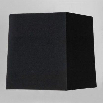 czarny abażur do lampy 45