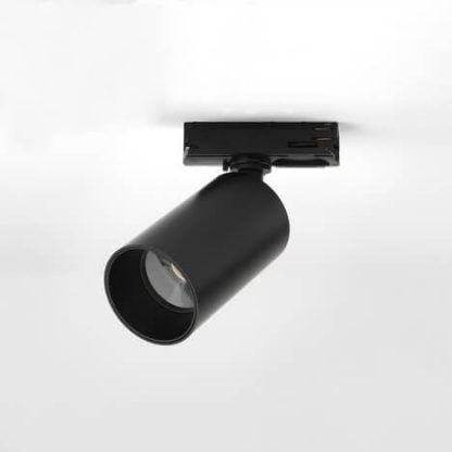 czarny reflektor sufitowy do kuchni do salonu szyna