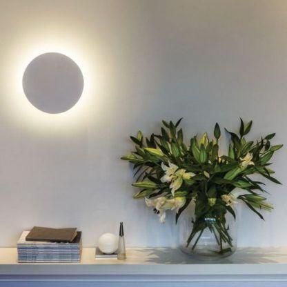 dekoracyjny kinkiet księżyc aranżacja salon