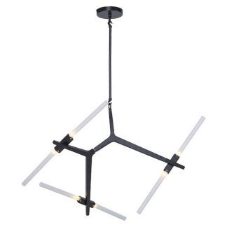 designerska czarna lampa wisząca mleczne klosze