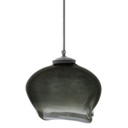 designerska lampa wisząca ze szkła produkt polski
