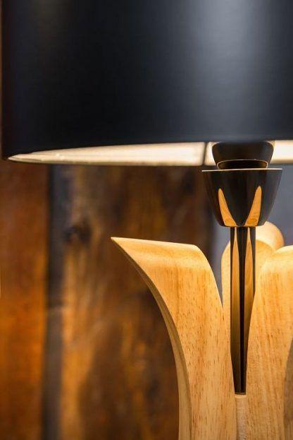 drewniana podstawa lampy 5468