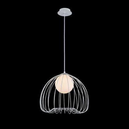 druciana nowoczesna lampa wisząca