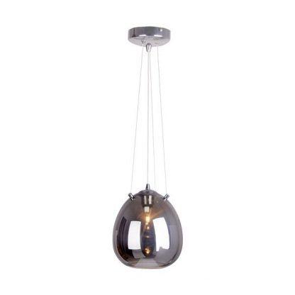 duża i długa lampa wiszaca do salonu - lustro weneckie