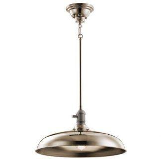 duża lampa wisząca klasyczna srebrny połysk