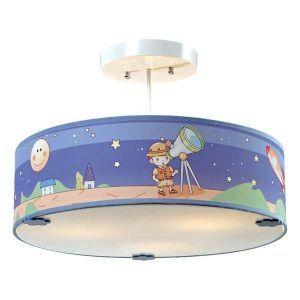 dziecięca lampa sufitowa pokój kosmonauty