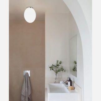 elegancka i nowoczesna lampa sufitowa - orągła klasyczna
