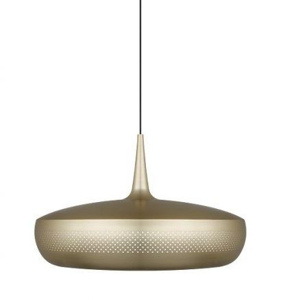 elegancka i nowoczesna lampa wiszaca mosiądz
