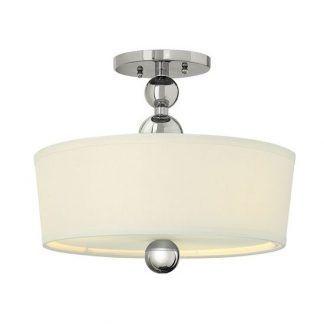 elegancka lampa sufitowa z kulami i abazurem
