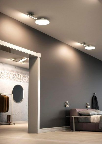 elegancki plafon do loftowego mieszkania