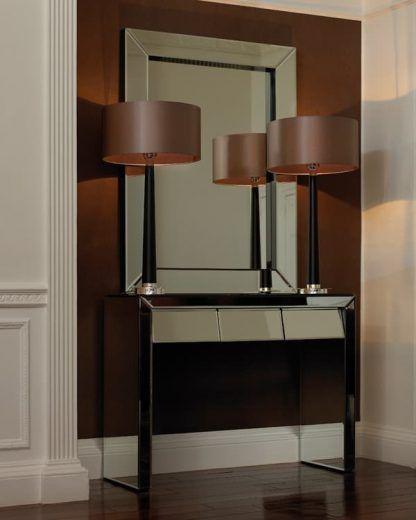 eleganckie lampy stołowe do salonu z abażurem