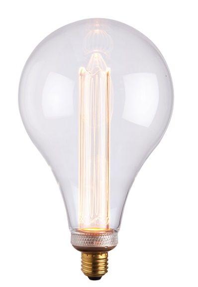 fajna żarówka dekoracyjna led do lampy - żarnik złoty
