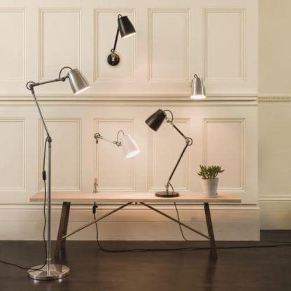 geometryczna lampa do gabinetu nowoczesna