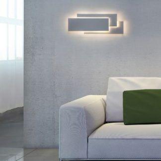 geometryczny kinkiet dekoracja salonu