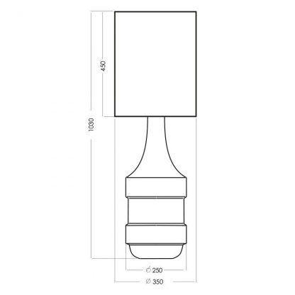 wymiary lampy 3411111