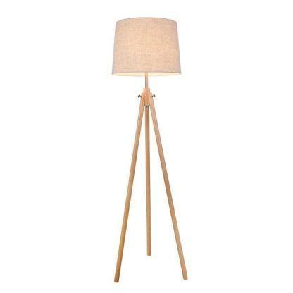 lampa podłogowa na trzech nóżkach
