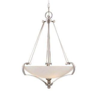 klasyczna lampa wisząca ze szklanym kloszem