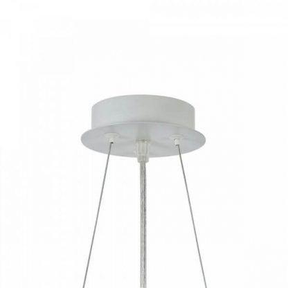 biała podsufitka do lampy wiszącej