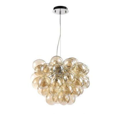 Idealna do salonu szklana lampa Balbo