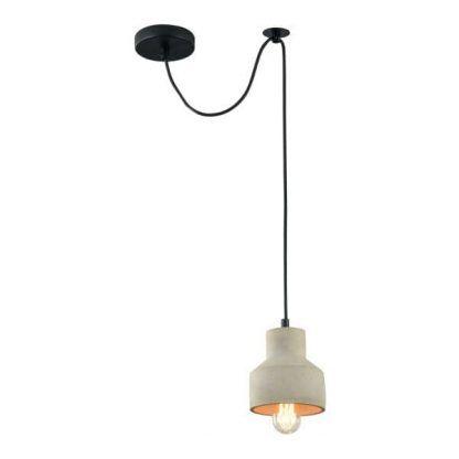 industrialna lampa wisząca do sypialni