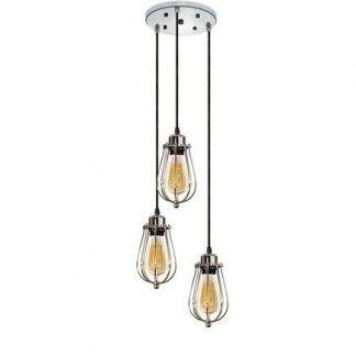 industrialna lampa wisząca przemysłowy design
