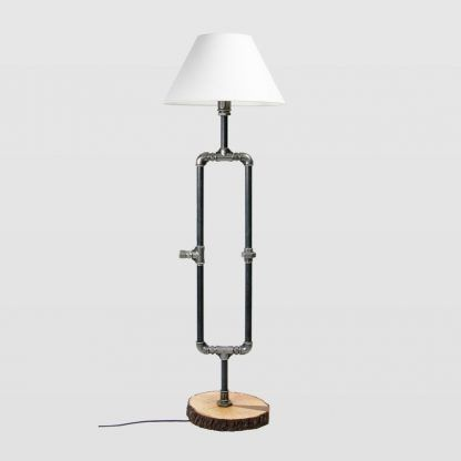 inspiracje lampy stojącej do salonu ręcznie robionej