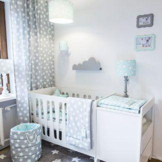 jak oświetlić pokój dziecięcy niemowlak - aranżacje