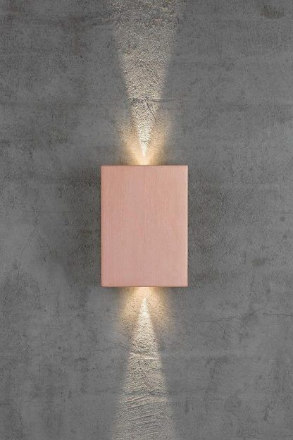 jaki kinkiet na betonową ścianę