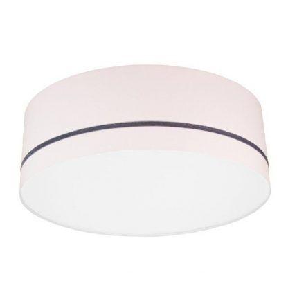 jasno różowa lampa sufitowa dla dziewczynki
