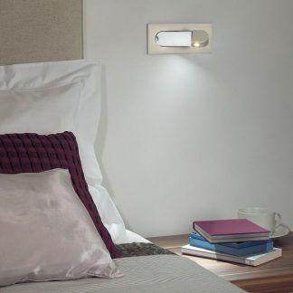 kinkiet do czytania książek - nowoczesny do sypialni