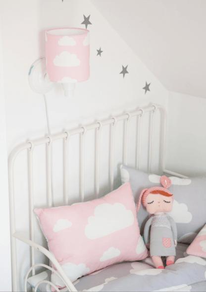 kinkiet dla dziecka nad łóżko - z wtyczką do gaszenia
