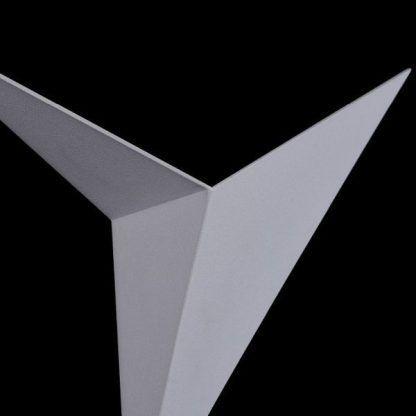 kinkiet geometryczny - biały