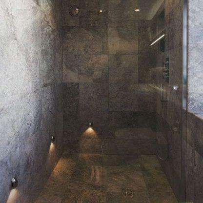 kinkiet łazienkowy odporny na wodę aranżacja