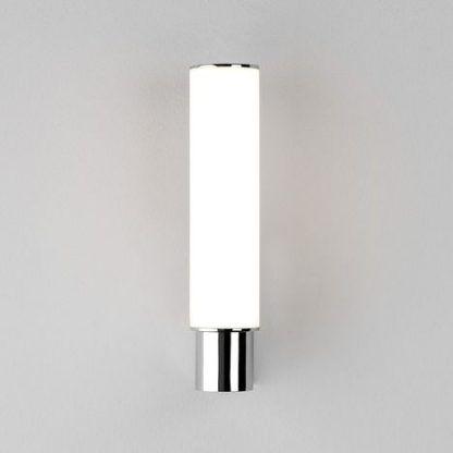 kinkiet mleczna tuba do łazienki nowoczesny